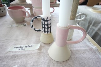 MAE - Ceramic Candle Sticks