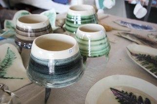 Moss Stitch Ceramics - Pots with legs
