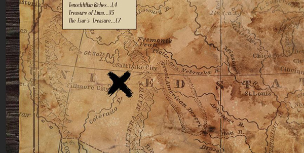 Create A Vintage Treasure Map In Photoshop