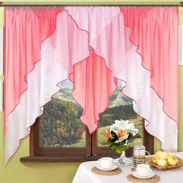 Выбираем цвет для кухонных штор - Дизайн дачи и участка
