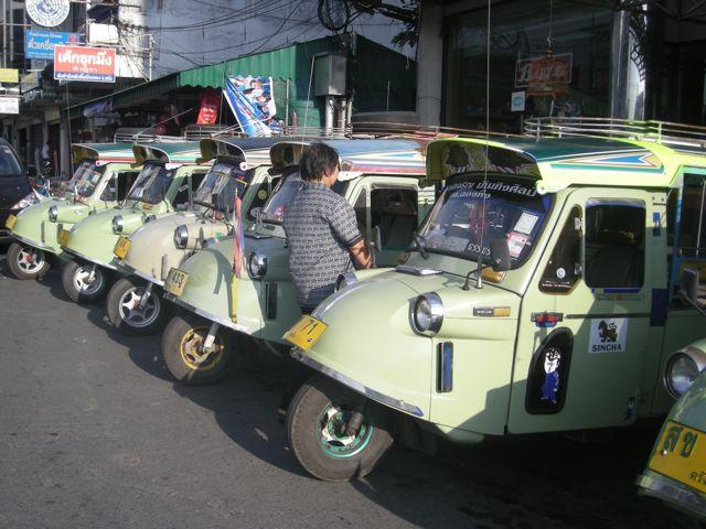 Tuk-tuk à Trang