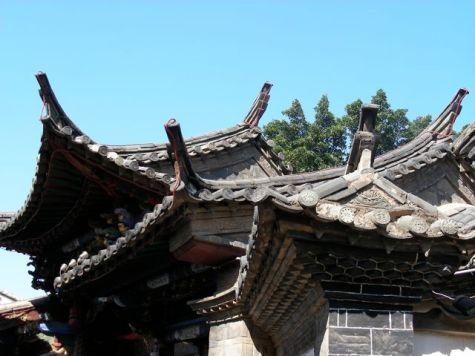 Jeu de toitures à Jianshui