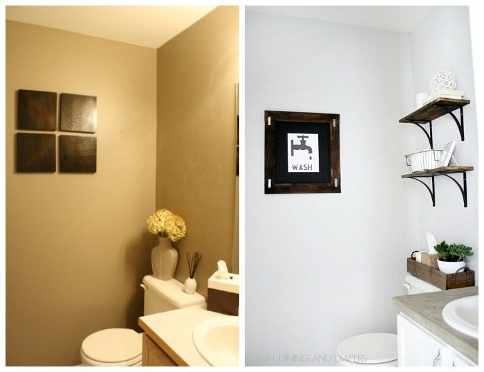 Modern Half Bathroom Designs Bathrooms Design Picturesyellow Half Bathroom  Brightpulse Us Half Bathroom Makeover Before Half Bathroom Makeovers Before  And ...