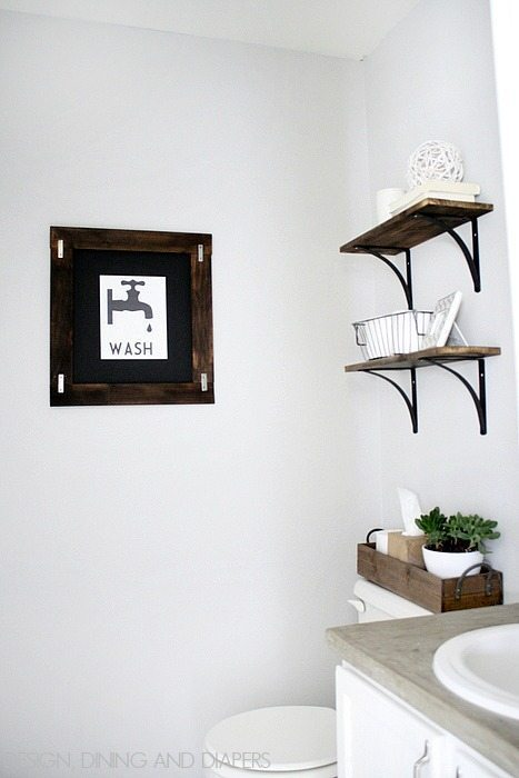 Small Half Round Shelves