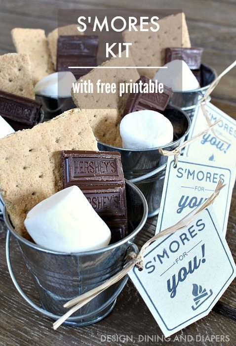 DIY S'mores Kit with Free Printable