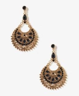 FOREVER 21, Goddess Crescent Earrings, $6.80