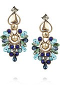 NET-A-PORTER, Etro, Crystal and stone Clip Earrings, $737