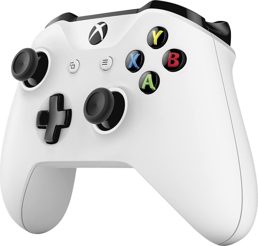 Příklad tlačítek u ovladače Xbox od Microsoft