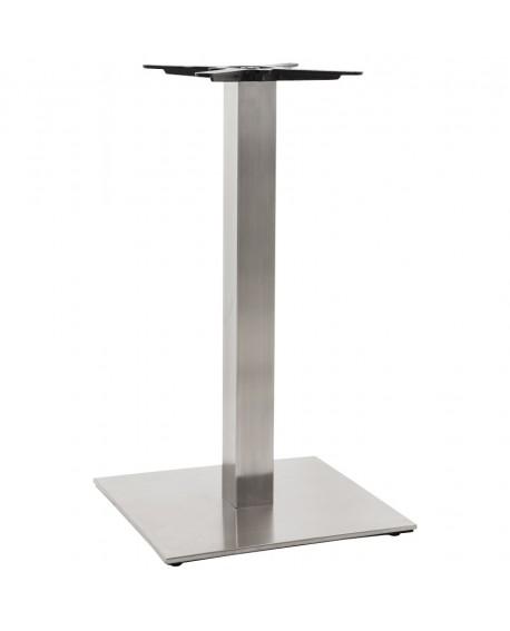 pied de table sans plateau 90cm stainless steel 50x50x90 cm