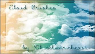ксити для фотошопа облака
