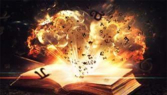 урок для фотошоп, создание коллажа магической книги