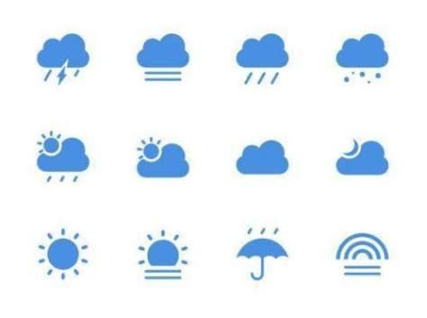 иконки погода скачать бесплатно