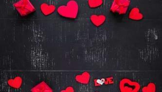Бесплатные романтические фоны ко Дню Св. Валентина