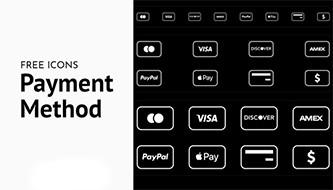 Бесплатные наборы иконок для способов оплаты - SVG, PNG, Sketch и PSD