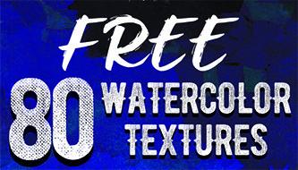 80 бесплатных акварельных текстур