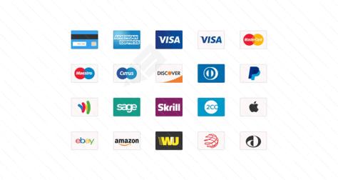 Кредитная карта веб-иконки psd png