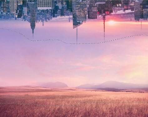 How to Create a Surreal Scene of an Upside Down City With Adobe Photoshop 9