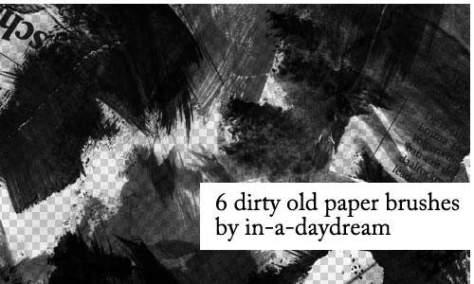 Так интересно бумажные кисти