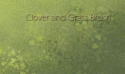 Привлекательный набор кистей для фотошопа из травы