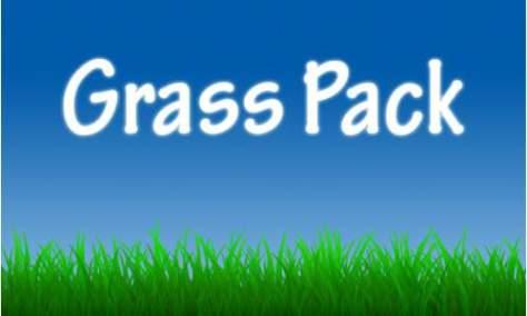 Набор забавных кистей для фотошопа из травы