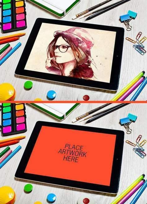 креативный художник планшета