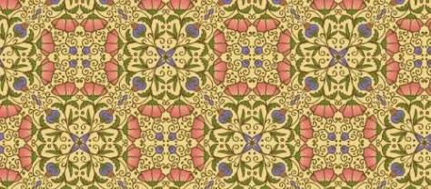 цветочные арабески бесплатные узоры
