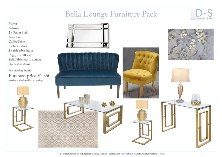 Bella Lounge Furniture Pack