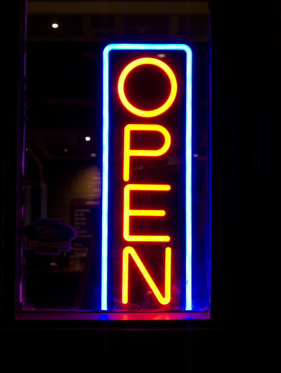 Open for business as usual