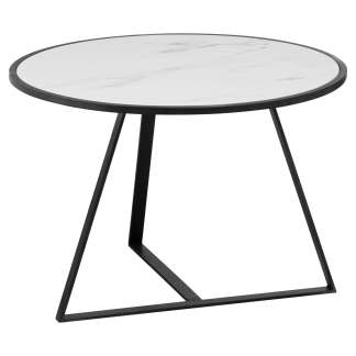 Grey And Marble Low Side Coffee Table
