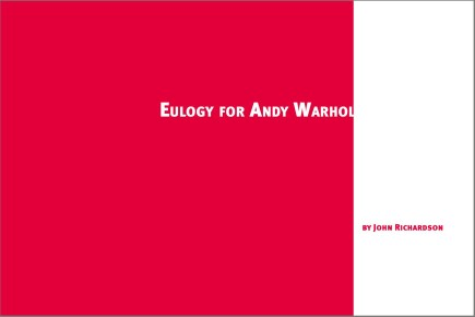 Andy Warhol: Chapter Division