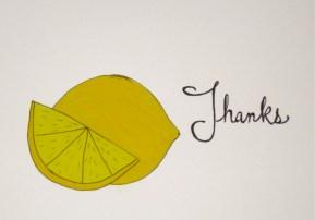 Lemon Thanks