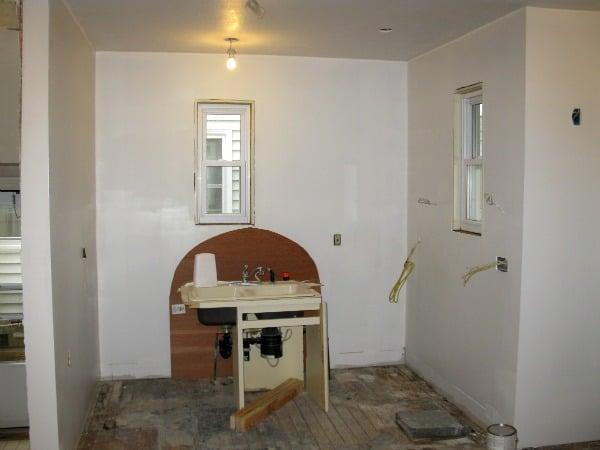 Adding drywall