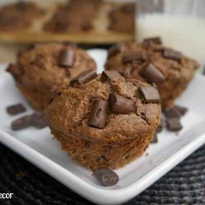 Tantalizing Tuesday – Double Chocolate Chip Muffins