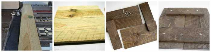 Building the wood plaque