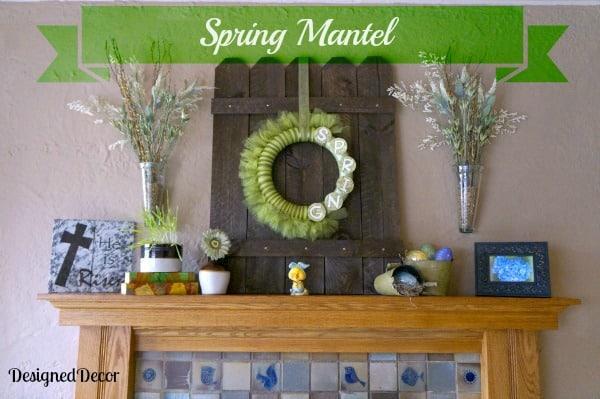 Spring Mantel 1013