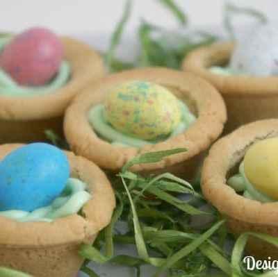 Tantalizing Tuesday – Bird Nest Cookies!