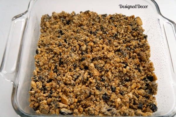 base layer peanut butter dessert