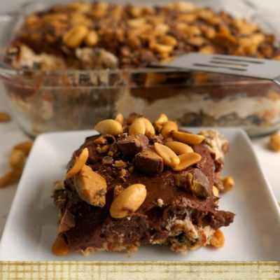 Tantalizing Tuesday – Peanut Butter Chocolate Dessert