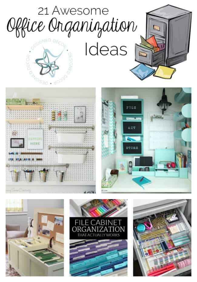 Nice 21 Awesome Office Organization Ideas!