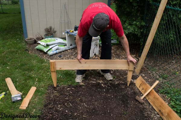 Building a raised garden bed-5