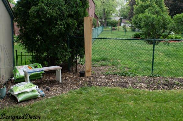 Building a raised garden bed