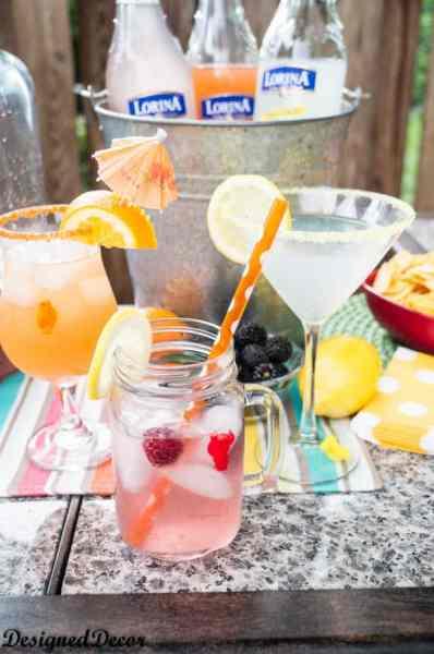 lorina prestige sparkling soda cocktails