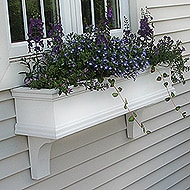 Adding Flower Window Boxes to our Home!