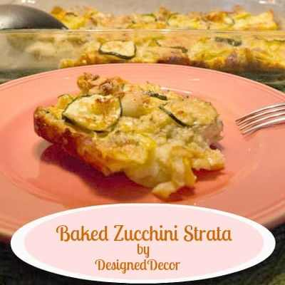 Tantalizing Tuesday ~ Baked Zucchini Strata!