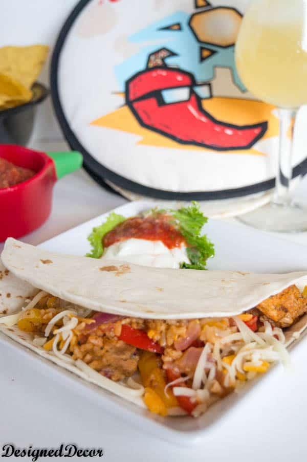 Kraft Recipe Mkaers Tex-Mex Chicken Fajita-7