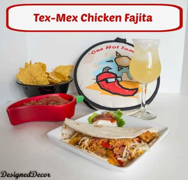 Kraft Recipe Mkaers Tex-Mex Chicken Fajita-pinnable