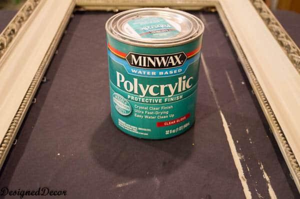 Minwax polycrylic sealer