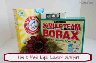 DIY Liquid Laundry Soap pinnable