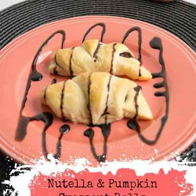 Crescent Rolls with Nutella and Pumpkin Cream Cheese!