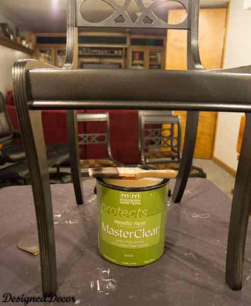 Master Clear sealer by Modern Masters